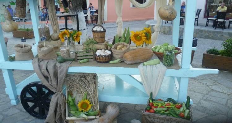 Και ο γνωστός σεφ Αλέξανδρος Παπανδρέου στην «1η γιορτή του αγρότη» στη Ατσική