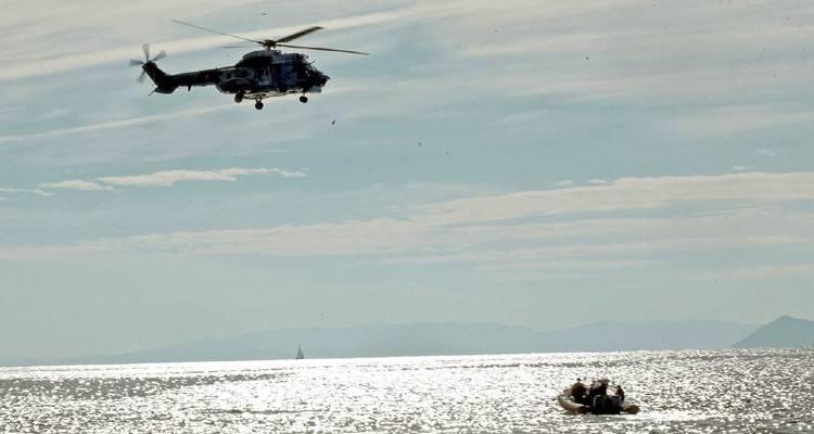 Χάλκη: Τουρκική ακταιωρός προσπάθησε να «τυφλώσει» Super Puma και ...