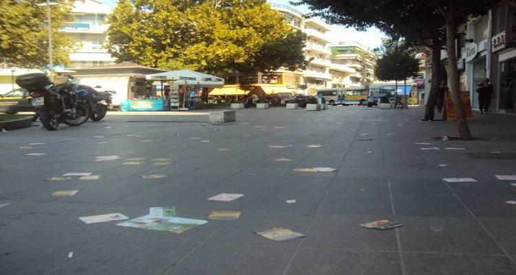 Ο Δήμος Λήμνου προειδοποιεί: Όχι στη ρύπανση από διαφημιστικά φυλλάδια
